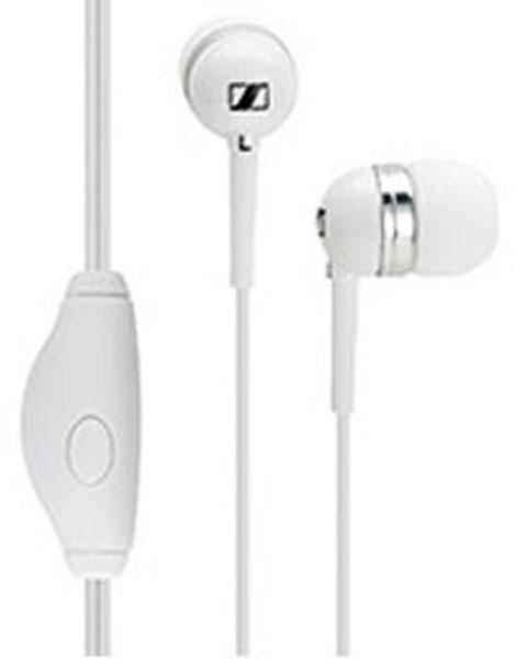 Sennheiser MM 50 iP Corded Headset For iPhone (White)