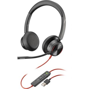 Plantronics/Poly Blackwire 8225 USB-A Corded Headset ANC