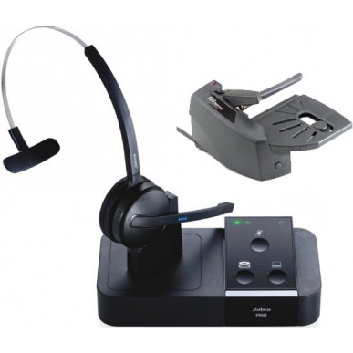 Buy Jabra Pro 9450 Wireless Headset With Lifter Lync Skype For Business 331
