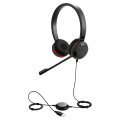 Jabra Evolve 20 MS Stereo SE USB Corded Headset