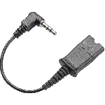 Plantronics QD To 3.5mm Right Angle Cable