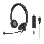 EPOS | Sennheiser SC 75 USB MS Corded Headset
