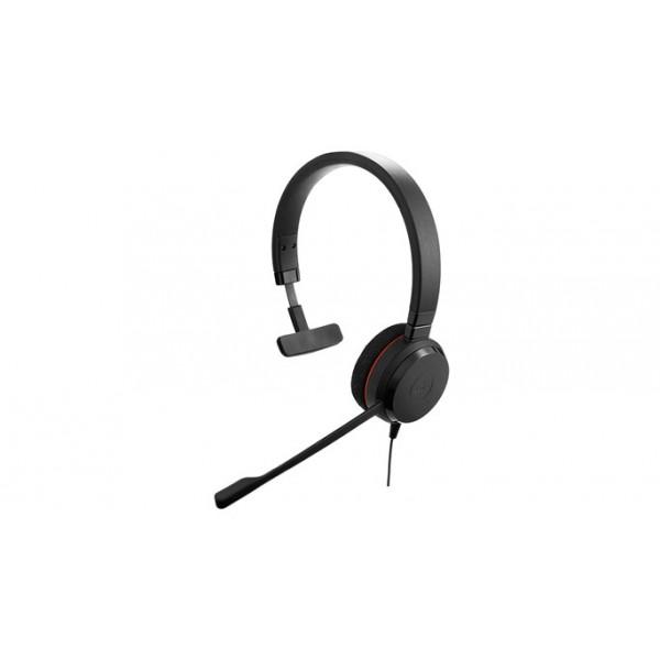 Jabra Evolve 20 UC mono USB corded Headses - Microsoft lync certified