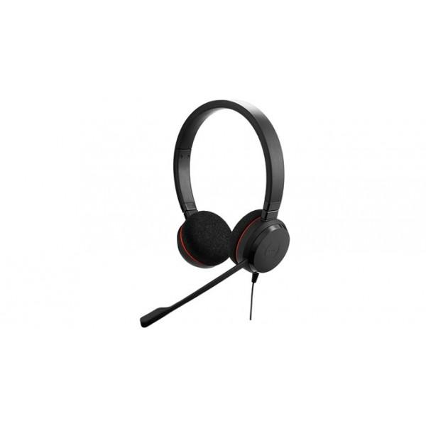 Jabra Evolve 20 UC stereo USB Corded Headset - Microsoft lync certified