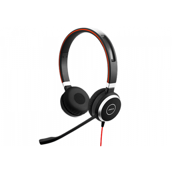 Jabra Evolve 40 UC Stereo USB and Mobile Corded Headset