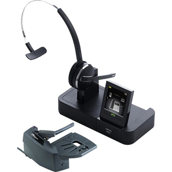 Jabra Pro 9470 Wireless Headset With Lifter - Lync & Skype for Business