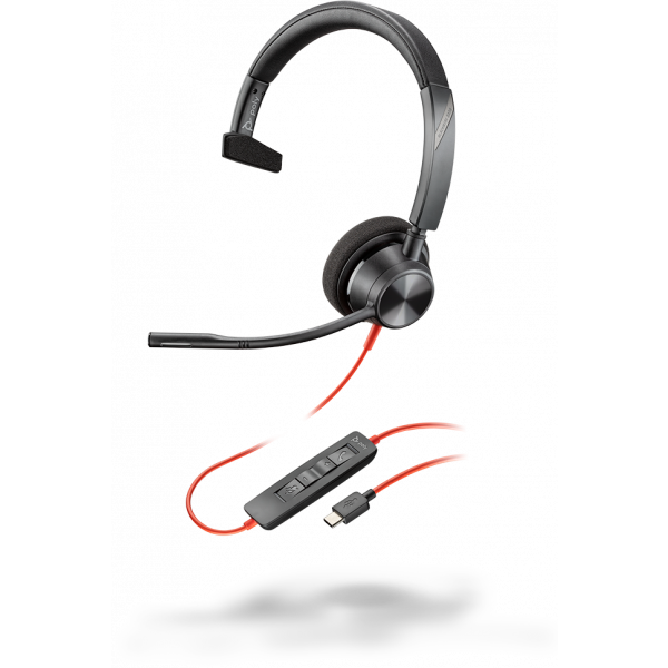 Plantronics/Poly Blackwire 3310-M **USB-C** Corded Headsets
