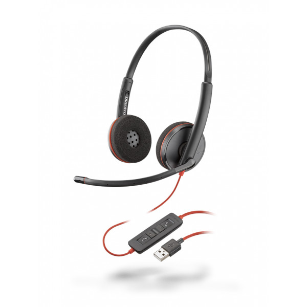 Plantronics Blackwire 3220 USB-A Duo Corded Headsets