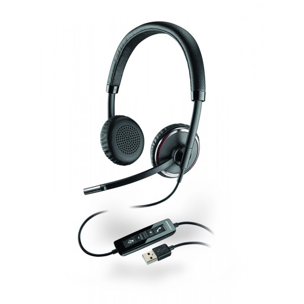 Plantronics Blackwire C520-M USB Corded Headset - Lync & Skype for Business