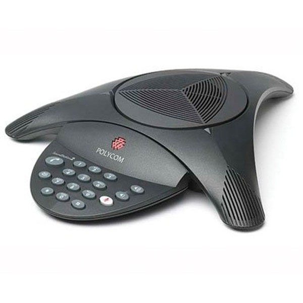 Polycom SoundStation2 Conference Phone. Non-Exp, No Display