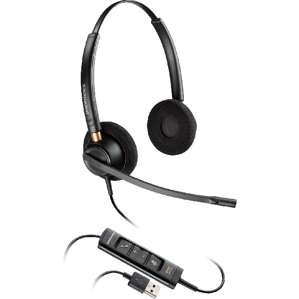 Plantronics/Poly HW525 USB Encore Pro Corded Headset