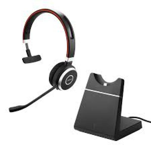 Jabra Evolve 65 UC Mono Headset + Charging Stand