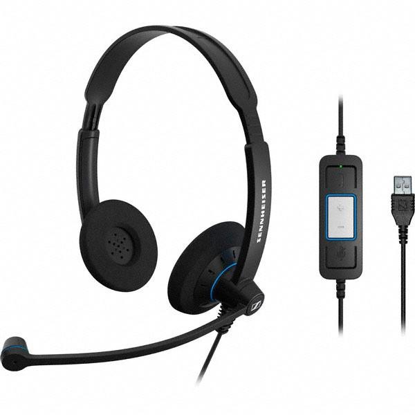 Sennheiser SC 60 USB CTRL Corded Headset