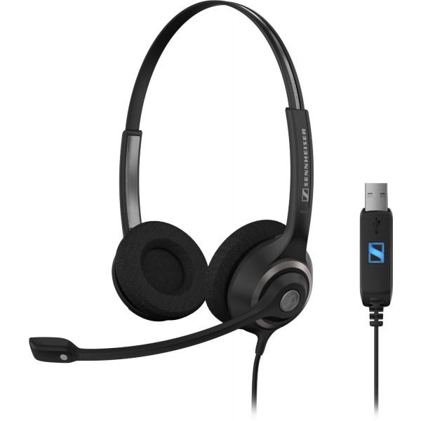 Sennheiser SC 260 USB Corded Headset