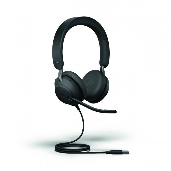 Jabra Evolve2 40 UC Stereo, USB-A