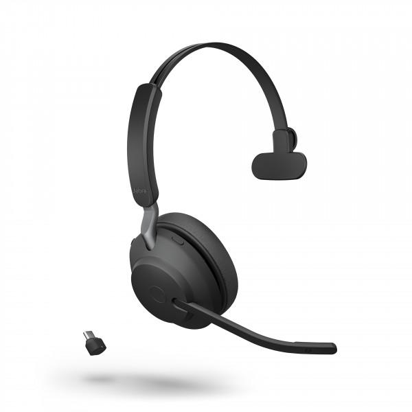 Jabra Evolve2 65 UC Mono, USB-A, Black