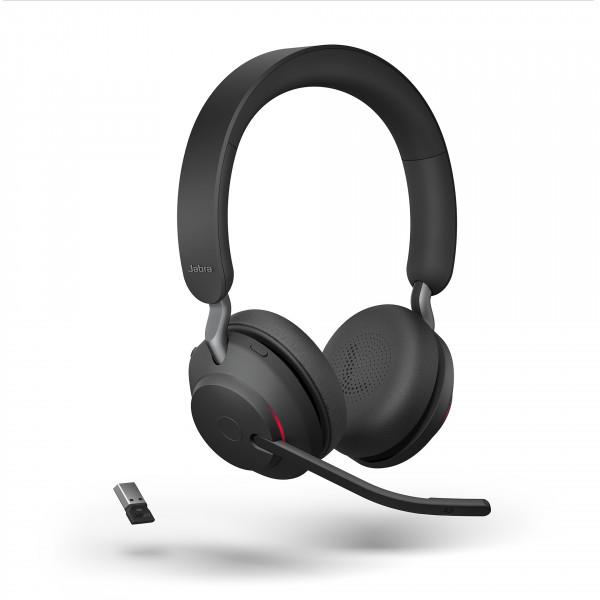 Jabra Evolve2 65 UC Stereo, USB-A, Black