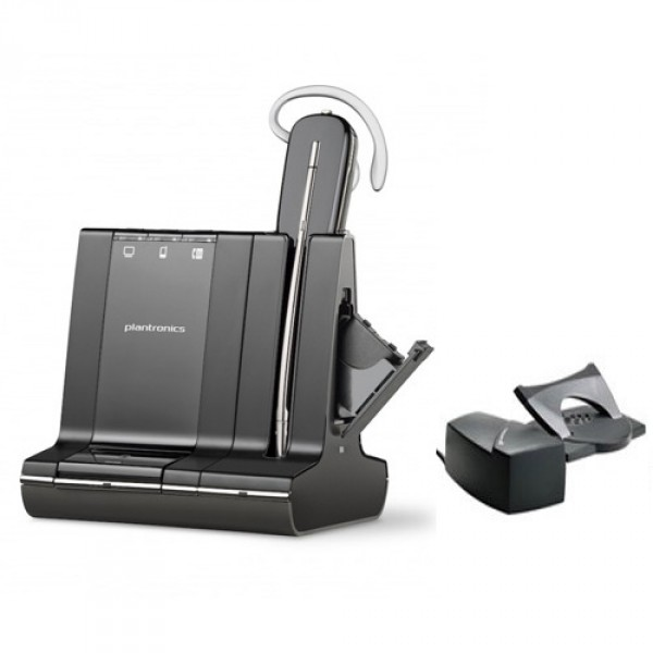 Plantronics Savi W745 Wireless Headset With Lifter