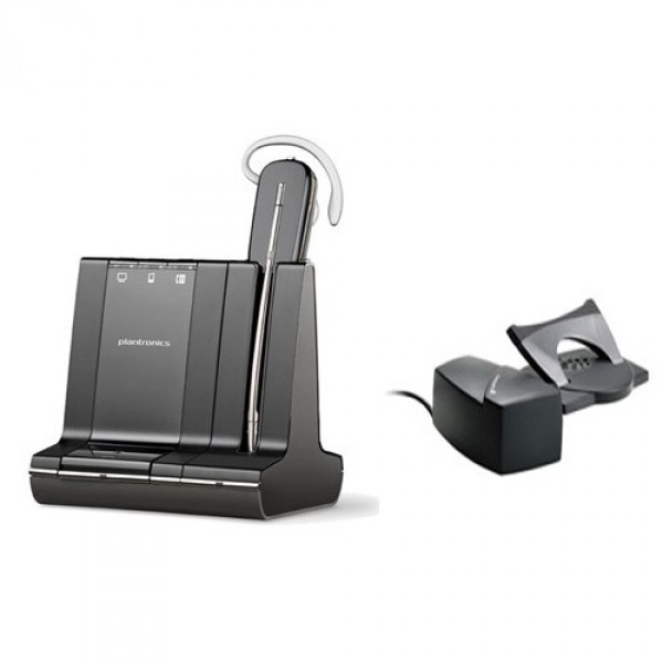 Plantronics Savi W740-M Wireless Headset With Lifter - Lync & Skype for Business