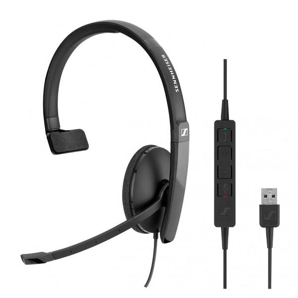 Sennheiser SC 130 USB CTRL Corded Headset