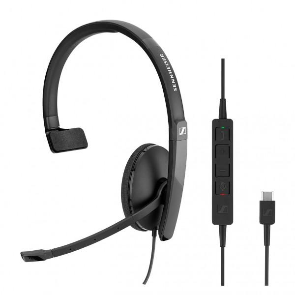 Sennheiser SC 130 USB-C CTRL Corded Headset