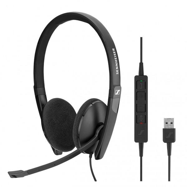 Sennheiser SC 160 USB CTRL Corded Headset