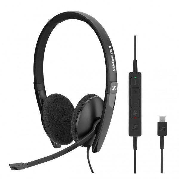 Sennheiser SC 160 USB-C CTRL Corded Headset