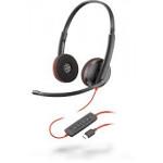 Plantronics Blackwire 3220 USB C Corded Headsets
