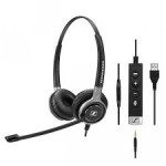 EPOS | Sennheiser SC 665 Duo USB and 3.5mm Corded Headset