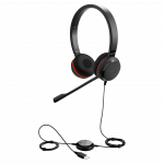 Jabra Evolve 20 MS Stereo SE USB Corded Headset