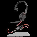 Plantronics/Poly Blackwire 5210 USB-C & 3.5mm Corded Headset