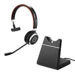 Jabra Evolve 65 MS Mono Headset + Charging Stand