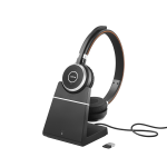 Jabra Evolve 65 UC Stereo Headset + Charging Stand