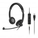 Sennheiser SC 75 USB MS Corded Headset