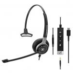 Sennheiser SC 635 Mono USB-C + 3.5mm Corded Headset
