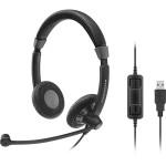 Sennheiser SC70 USB CTRL Corded Headset
