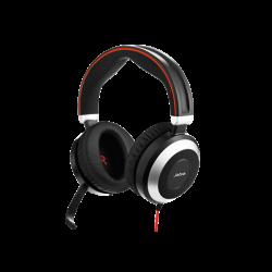Jabra Evolve 80 MS Stereo **USB-C** & Mobile Corded Headset