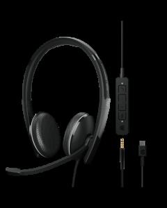 EPOS ADAPT 165  **USB-C** II Corded Headset
