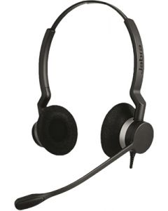 Jabra BIZ 2300 USB UC Duo Corded Headset