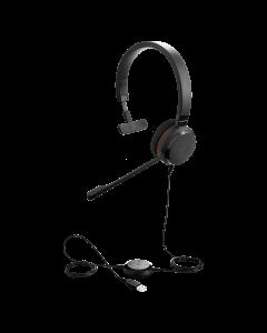 Jabra Evolve 20 MS Mono SE USB Corded Headset