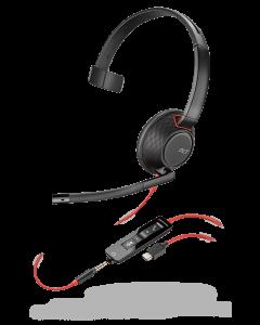 Plantronics/Poly Blackwire 5210 **USB-C** & 3.5mm Corded Headset