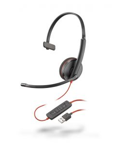 Plantronics/Poly Blackwire 3210 USB-A Corded Headsets