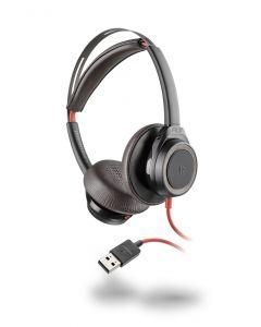 Plantronics/Poly Blackwire 7225 USB Corded Headset ANC - Black