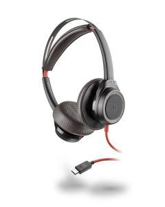 Plantronics/Poly Blackwire 7225 **USB-C**  Corded Headset ANC - Black