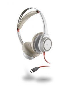 Plantronics/Poly Blackwire 7225 **USB-C**  Corded Headset ANC - White