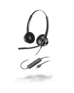 Plantronics/POLY EncorePro EP320 **USB-C** Corded Headset