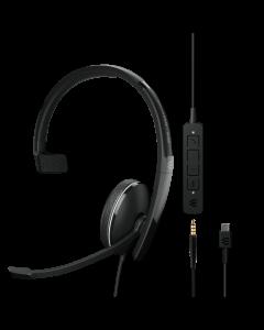 EPOS ADAPT 135 **USB-C** II Corded Headset