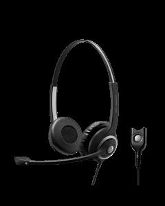 Image of EPOS|Sennheiser IMPACT SC 260 Corded Headset facing front side.