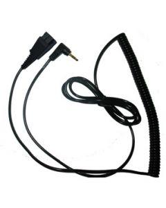 Jabra QD To RJ9 Cable