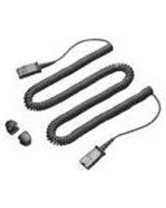 Plantronics/Poly QD To RJ45 Coil Cord M15D